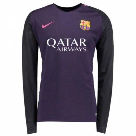 buy popular 75574 ee825 22.99 Barcelona Away Long Sleeve Shirt 2016 2017 | £19.99 ...