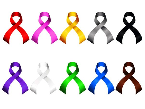 All Cancer Ribbons It Says It All Cancer Awareness Ribbons Of