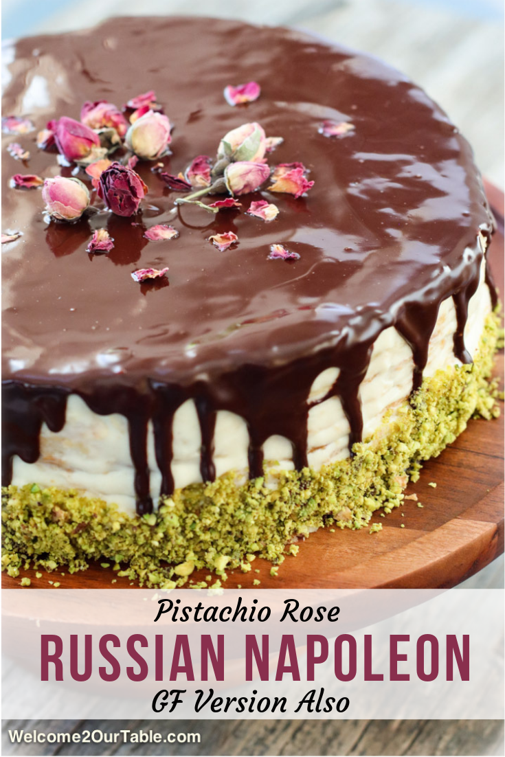 Pistachio Rose Russian Napoleon Cake (GF Version Also) - Welcome 2 Our Table #napoleonkuchenrussisch Pistachio Rose Russian Napoleon Cake (GF Version Also) - Welcome 2 Our Table #napoleonkuchenrussisch Pistachio Rose Russian Napoleon Cake (GF Version Also) - Welcome 2 Our Table #napoleonkuchenrussisch Pistachio Rose Russian Napoleon Cake (GF Version Also) - Welcome 2 Our Table #napoleonkuchenrussisch
