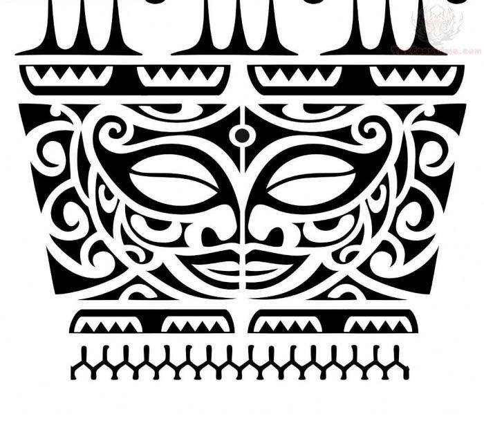 Super Tiki Maori Armband Tattoo Design   Places to Visit   Pinterest  LS62