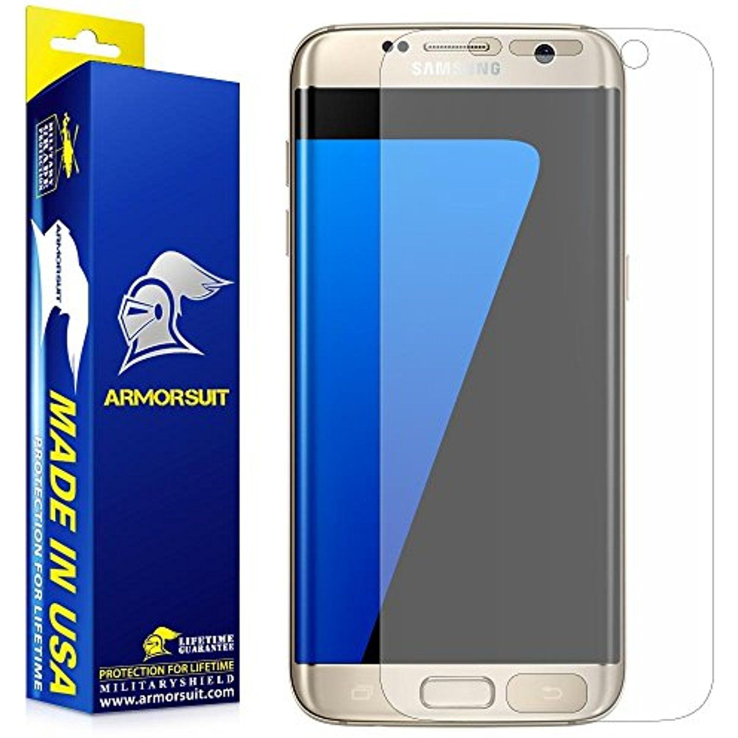 ArmorSuit Anti Glare Full Coverage Armorsuit MilitaryShield Matte Screen Protector for Samsung Galaxy S7 Edge