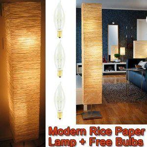 Rice Paper Shade Asian Floor Mood Lamp Floor Lamp Styles Mood