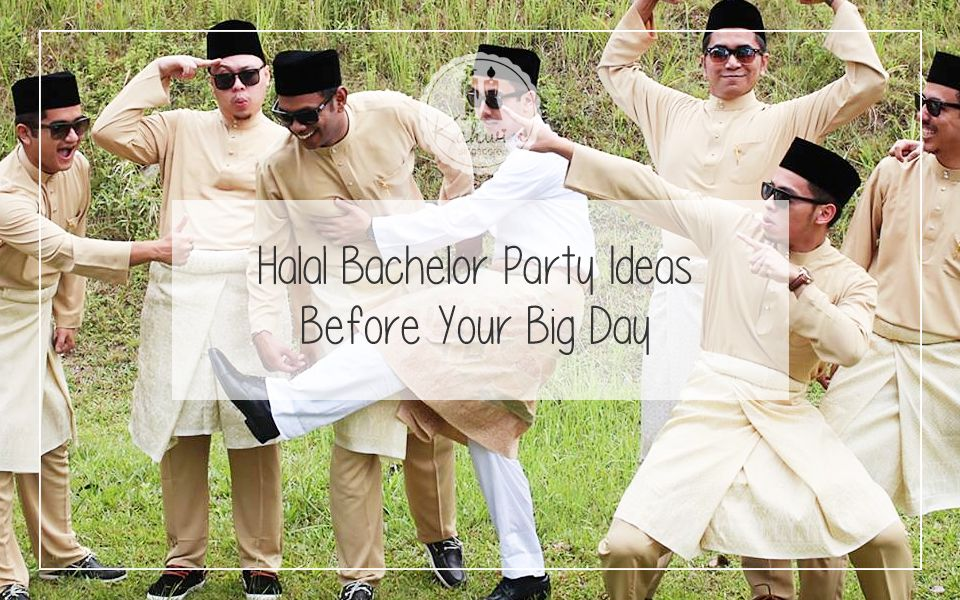 Halal Bachelor Party Ideas Before Your Big Day Bachelor Party Photo Wedding Favors Wedding Event Planning