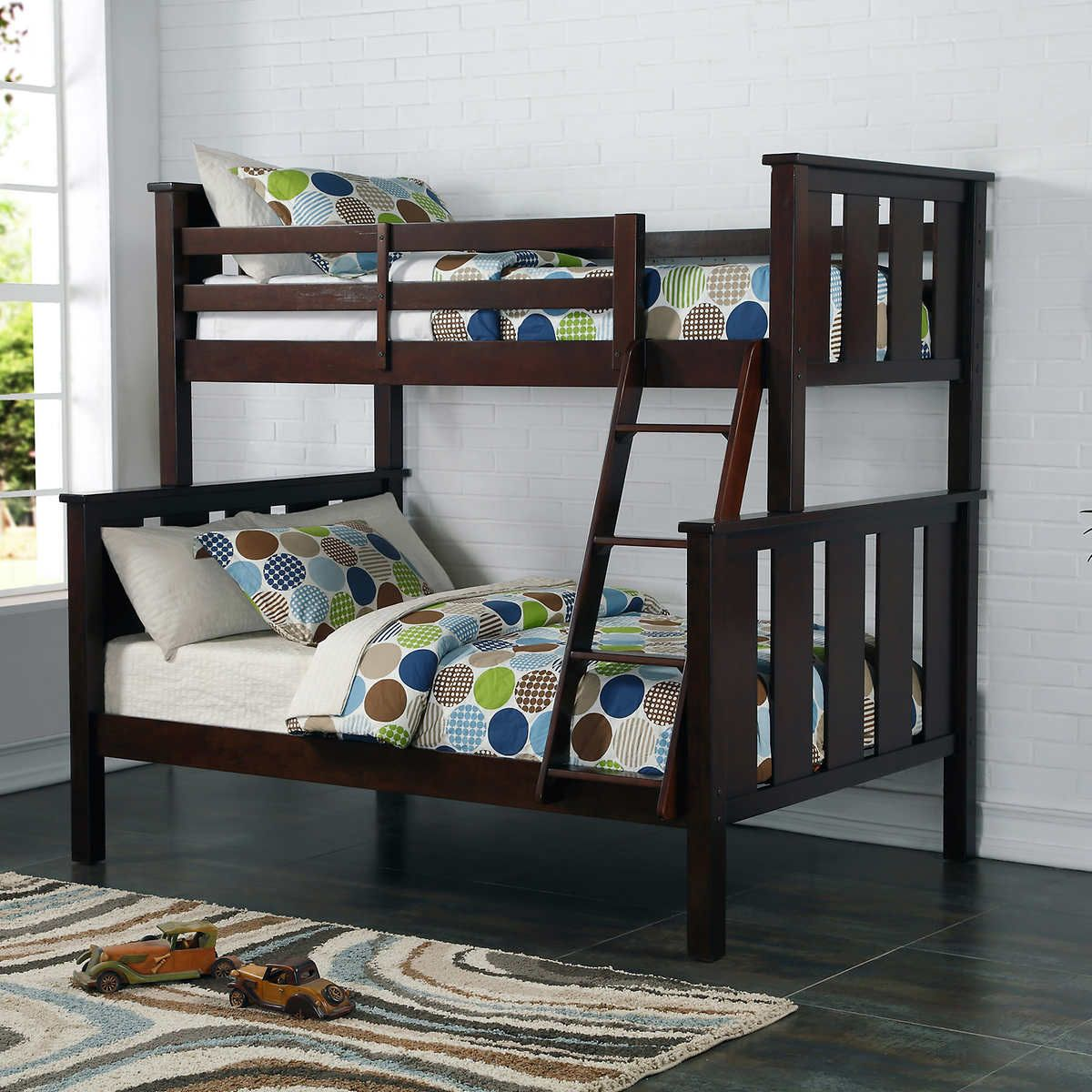 77 Seneca Twin Over Full Bunk Bed Interior Bedroom Design