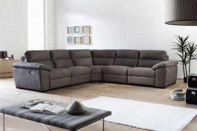 buy online a9c38 e7e36 Nadia recliner corner sofa | Lounge | Corner couch, Leather ...