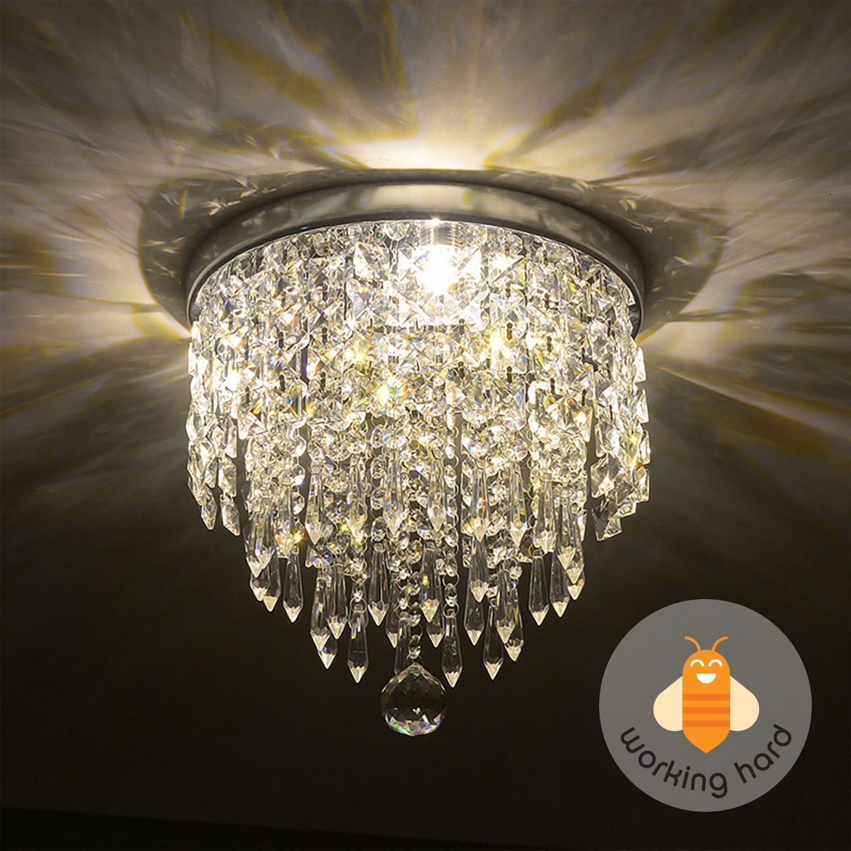 Pendant ceiling lamp crystal ball fixture light chandelier flush pendant ceiling lamp crystal ball fixture light chandelier flush mount lighting arubaitofo Choice Image