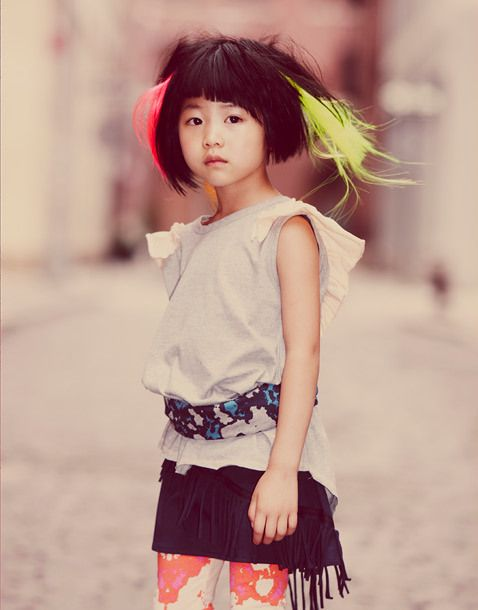 what a little fashionista!