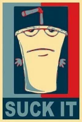 Master Shake.  Aqua teen hunger force