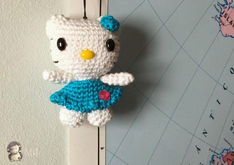 Amigurumi Tutorial Gratis : Mini hello kitty amigurumi patron gratis en español y con vídeo