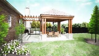 Outdoor Patio Ideas On A Budget   Bing Images  Pergola Leading To Enclosed  Patio