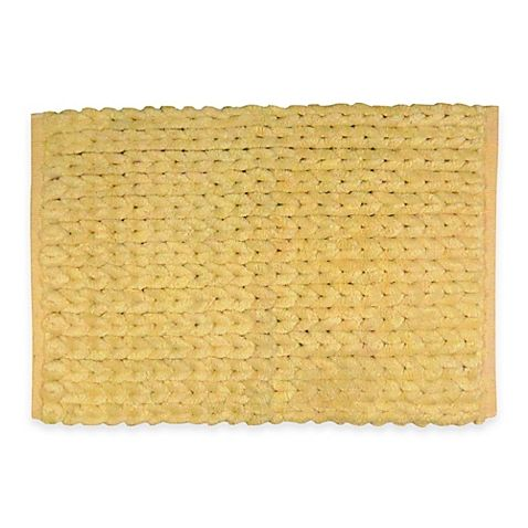 Park B Smith Chenille Knit Bath Rug Bath Rug Rugs