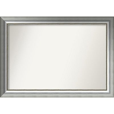 "House of Hampton Finty Wood Wall Mirror Size: 26.75"" H x 37.75"" W x 1.5"" D"