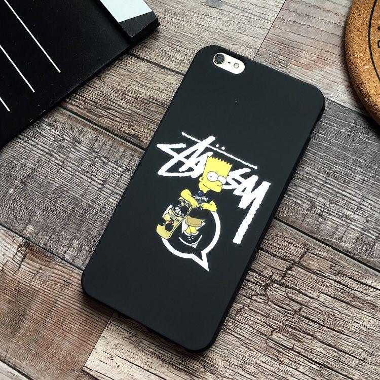 STUSSY(ステューシー)のstussy シンプソンズ コラボiPhone7/7Plus/8ケースご紹介、大変希少な個性的デザイン。