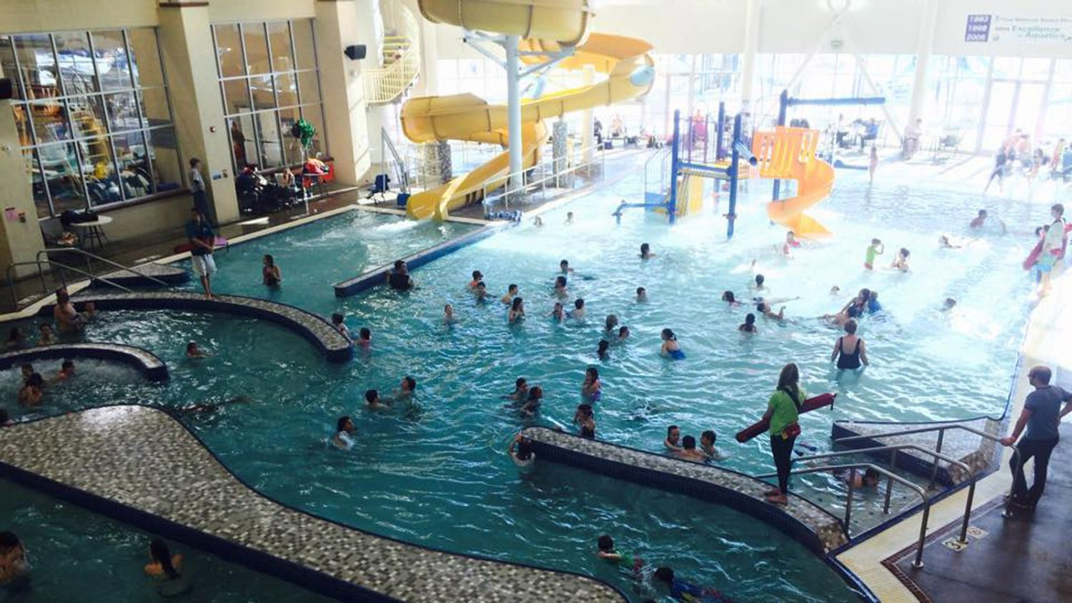 Weather In Spring Can Be Very Unpredictable So An Indoor Water Park Is The Perfect Way To Enjoy
