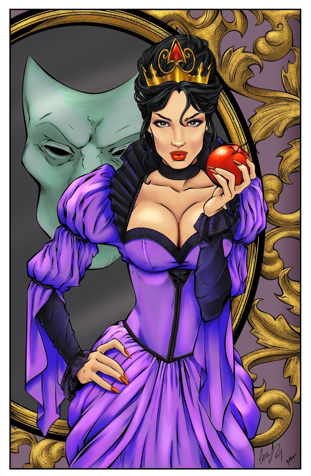 evil queen by eliaschatzoudis by carolcolors on