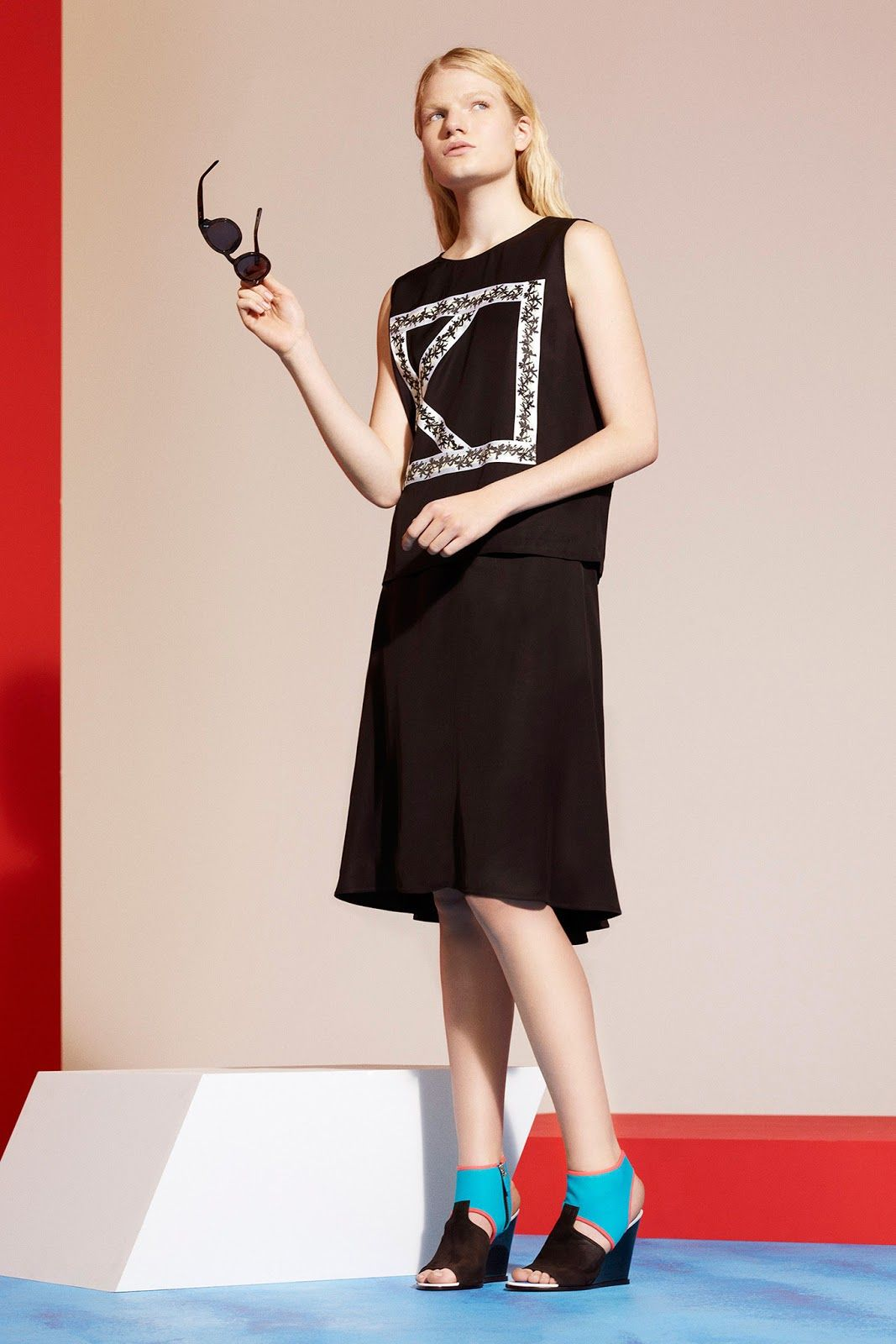 eleonora baumann and irene hiemstra for kenzo resort 2014 | visual optimism; fashion editorials, shows, campaigns & more!