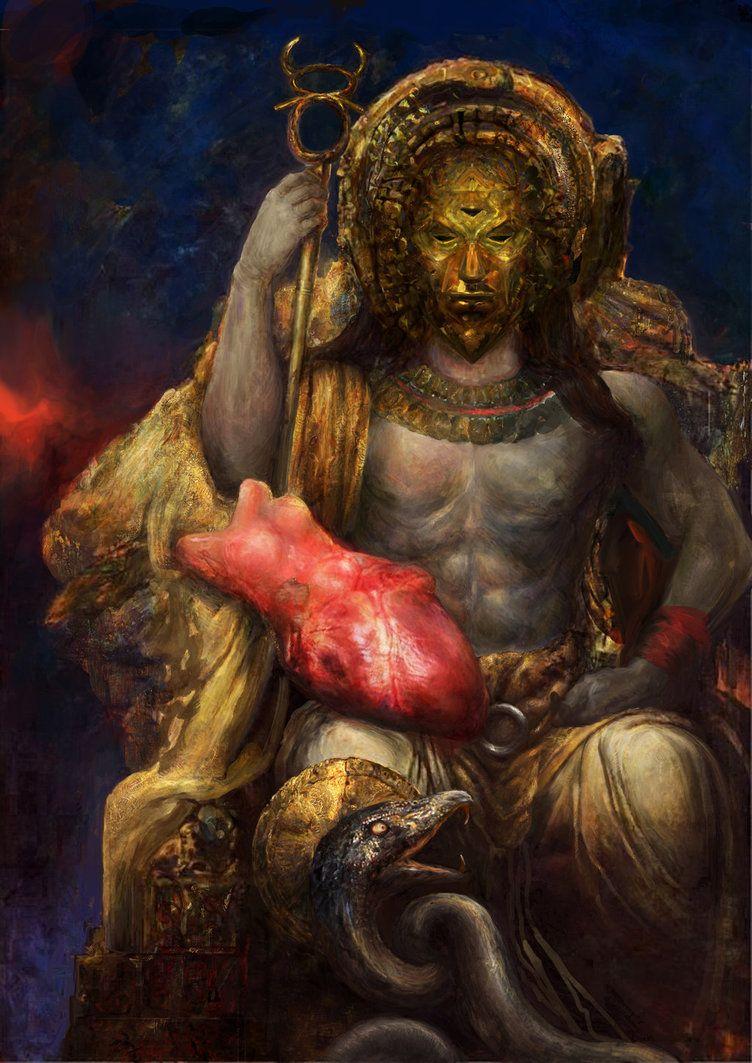 Morrowind: Lord Dagoth by IgorLevchenko.deviantart.com on @DeviantArt