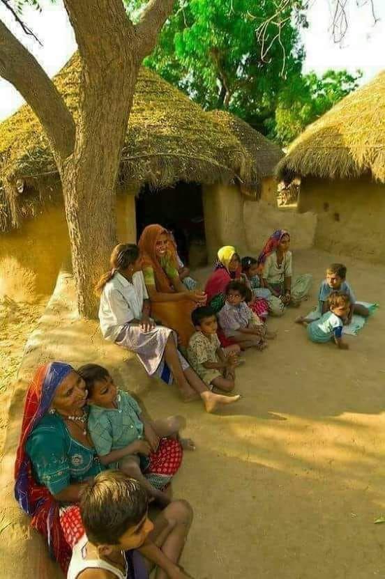 Indian Village Images