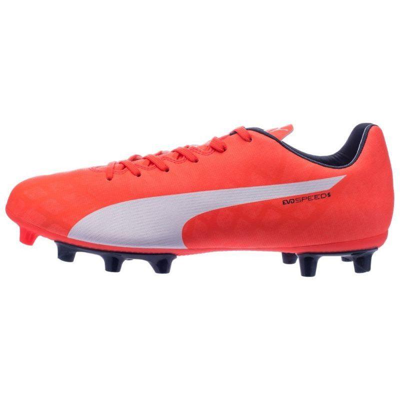 Buty Pilkarskie Puma Evospeed 5 4 Fg M 10328601 Czerwone Wielokolorowe Football Shoes Shoes Puma