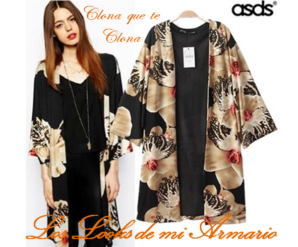 Los looks de mi armario: Kimono de orquideas asos Vs Kimono de ...