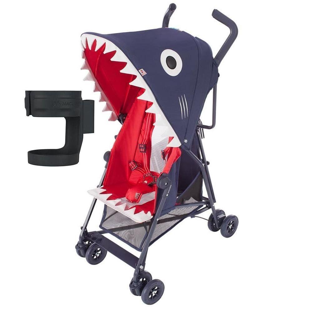 Maclaren Mark II Shark Buggy Stroller with Cup Holder