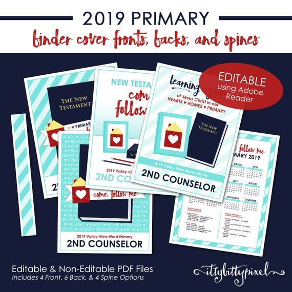 ITEM DETAILS: • Title: LDS P.001 Binder Covers • Item