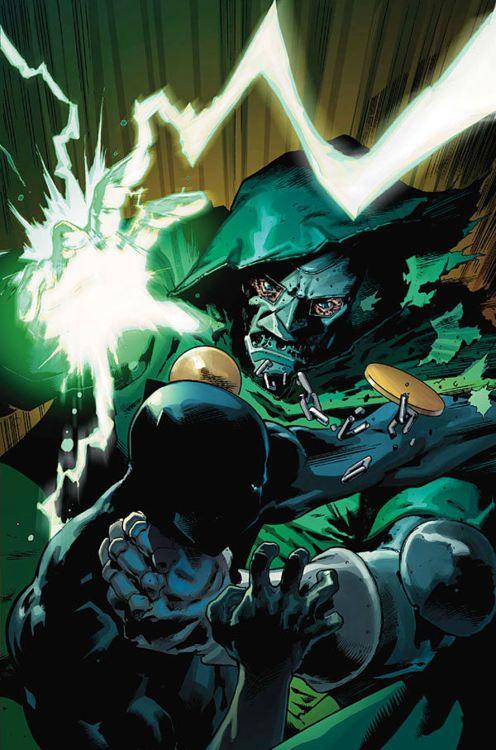 Dr. Doom vs. Black Panther