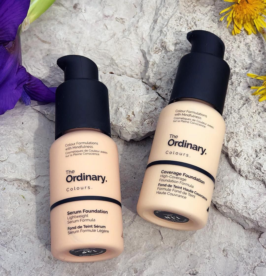 Have you tried the foundations from The Ordinary yet