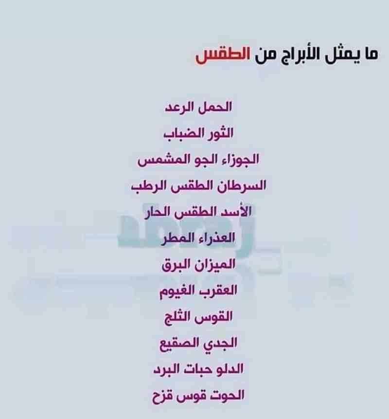 ما يقابل الأبراج من الطقس برج الجوزاء برج الحمل برج الميزان برج الثور برج العقرب برج الح Quran Quotes Love Funny Arabic Quotes Quotes Deep Feelings