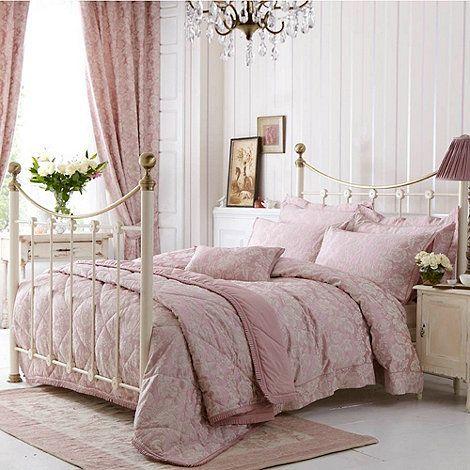 Dorma Pale Pink Elizabeth Bed Linen At Debenhams Com Need