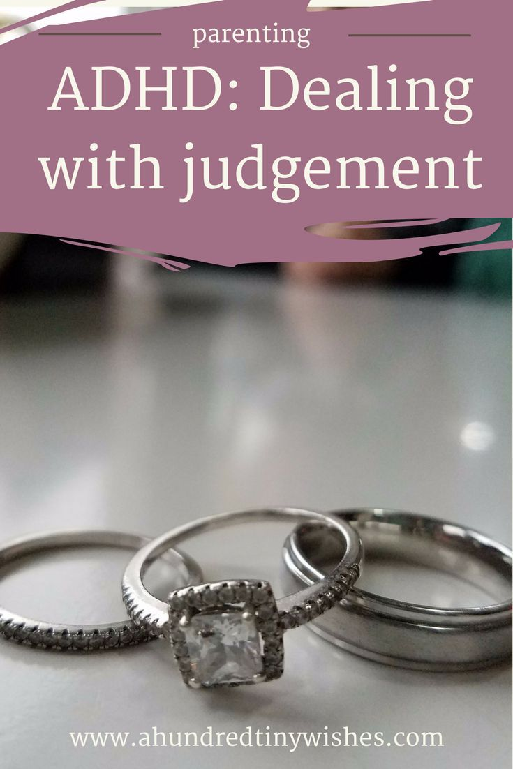 ADHD & Parenting: dealing with judgement