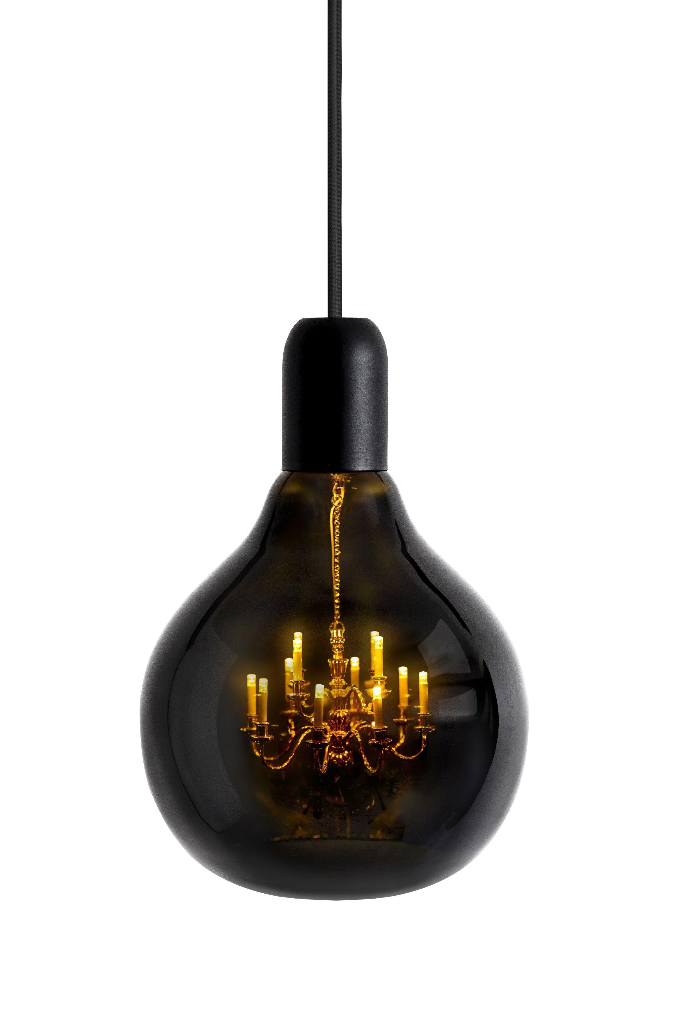 Captivating Blown Glass Pendant Lamp KING EDISON GHOST   @lovabledesign Great Ideas