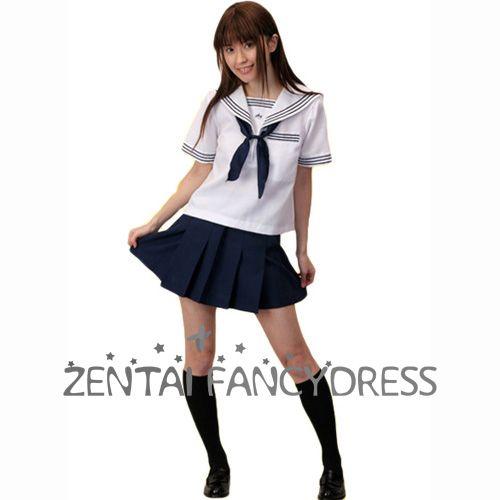 Wholesale School Lolita Dress Navy School Uniform Suit Janpan School Uniform