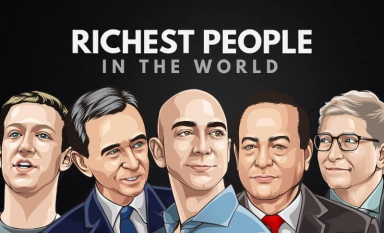 The 25 Richest People In The World 2020 Rich People Richest In The World Millionaire Mindset