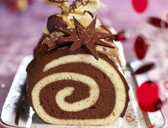 Tronchetto Di Natale Tutorial.Facili Idee Tronchetto Di Natale Cioccolato E Panna Alimenti Di Natale Torte Arrotolate Ricette Dolci
