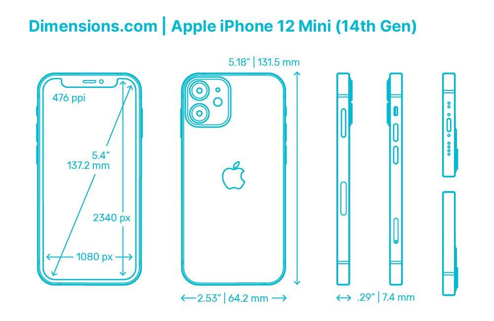 Apple Iphone 12 Mini 14th Gen