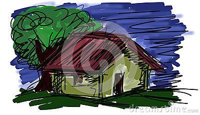 home sweet home illustration and clip art illustration sweet rh pinterest ca