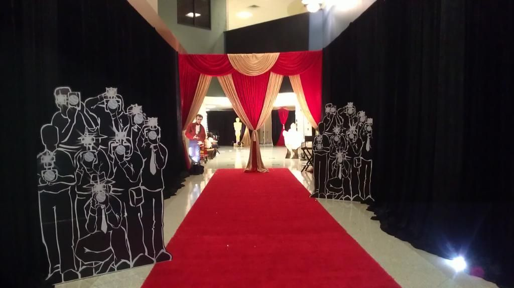 Hollywood Backdrop Omega Ball 2015 In 2019 Party Food