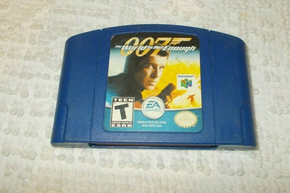 Nintendo 64 N64 007 The World Is Not Enough Video Game Cartridge