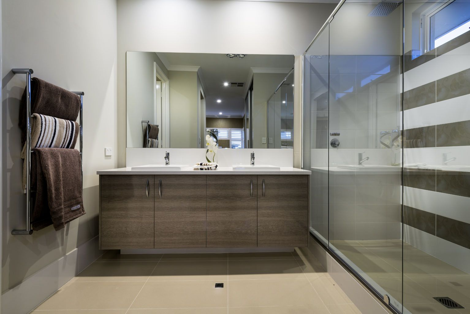 Beautiful Bathrooms Perth the arcadia © ben trager homes | perth display home | master