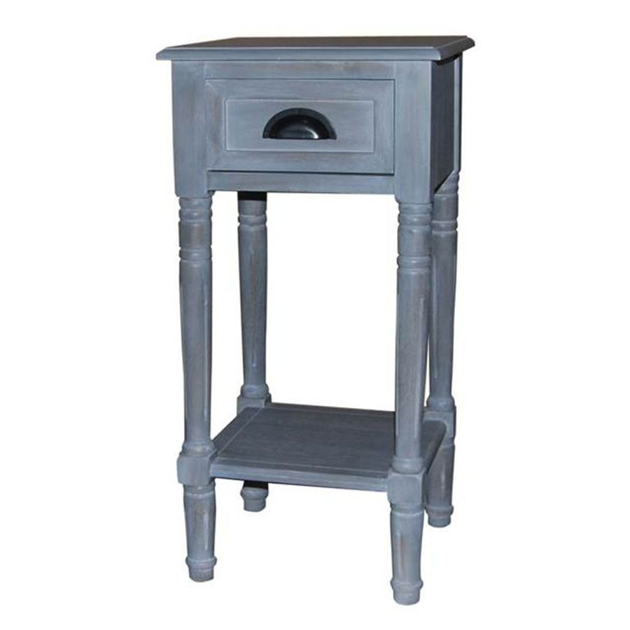 Gray Wash Wood End Table Lowes Com Wood End Tables Accent Table
