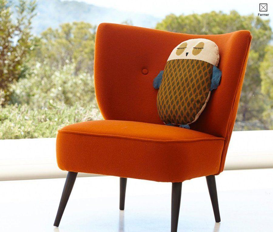 fauteuil franck  ampm la redoute  marie claire maison