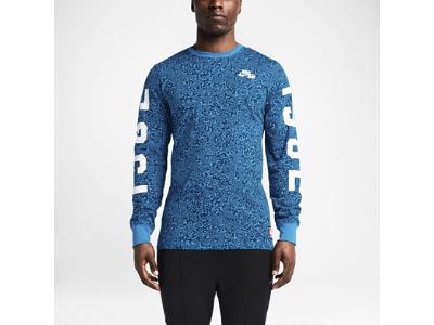 Nike Basketball Pivot Printed Long-Sleeve Men's T-Shirt