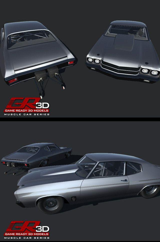 muscle car drag racing game