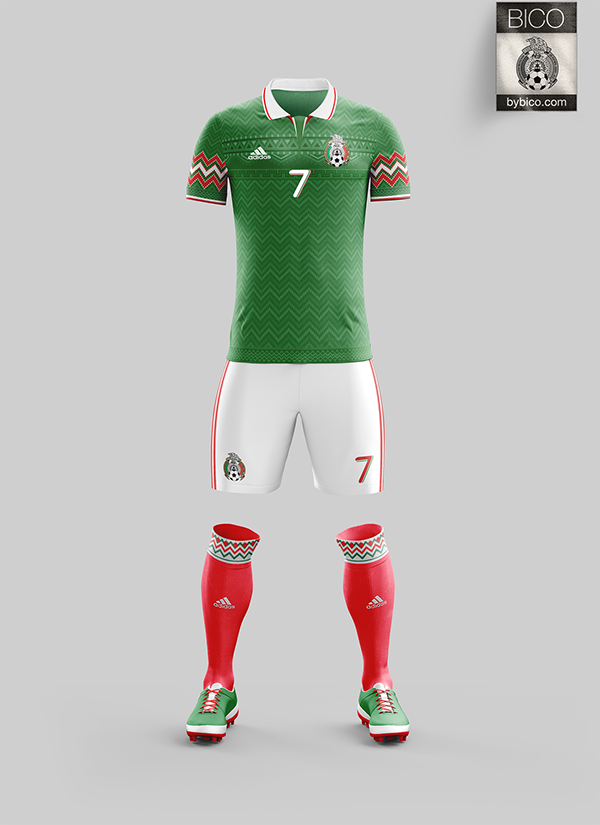 Mexico Kit On Behance In 2020 Jersey Design Sport Outfits Soccer Jersey