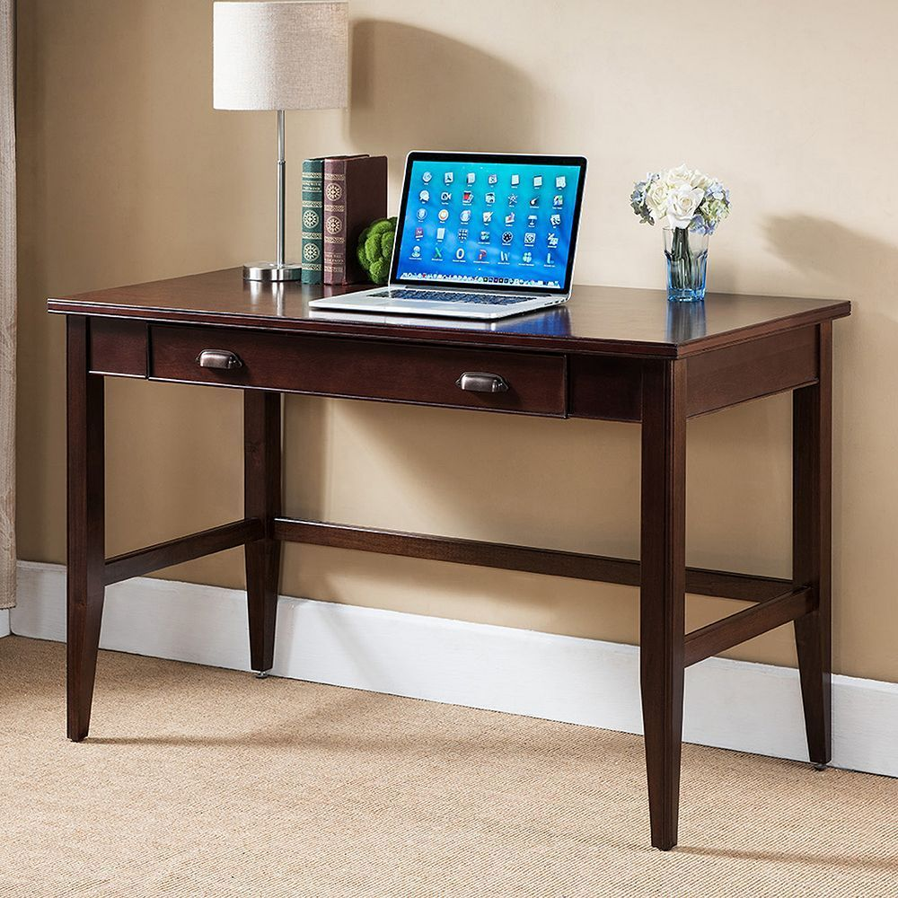 Leick Furniture Traditional Writing Desk, Brown