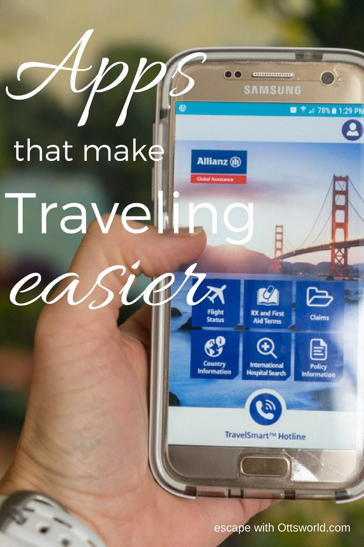 An Insurance Travel App that will Make your Travels Easier