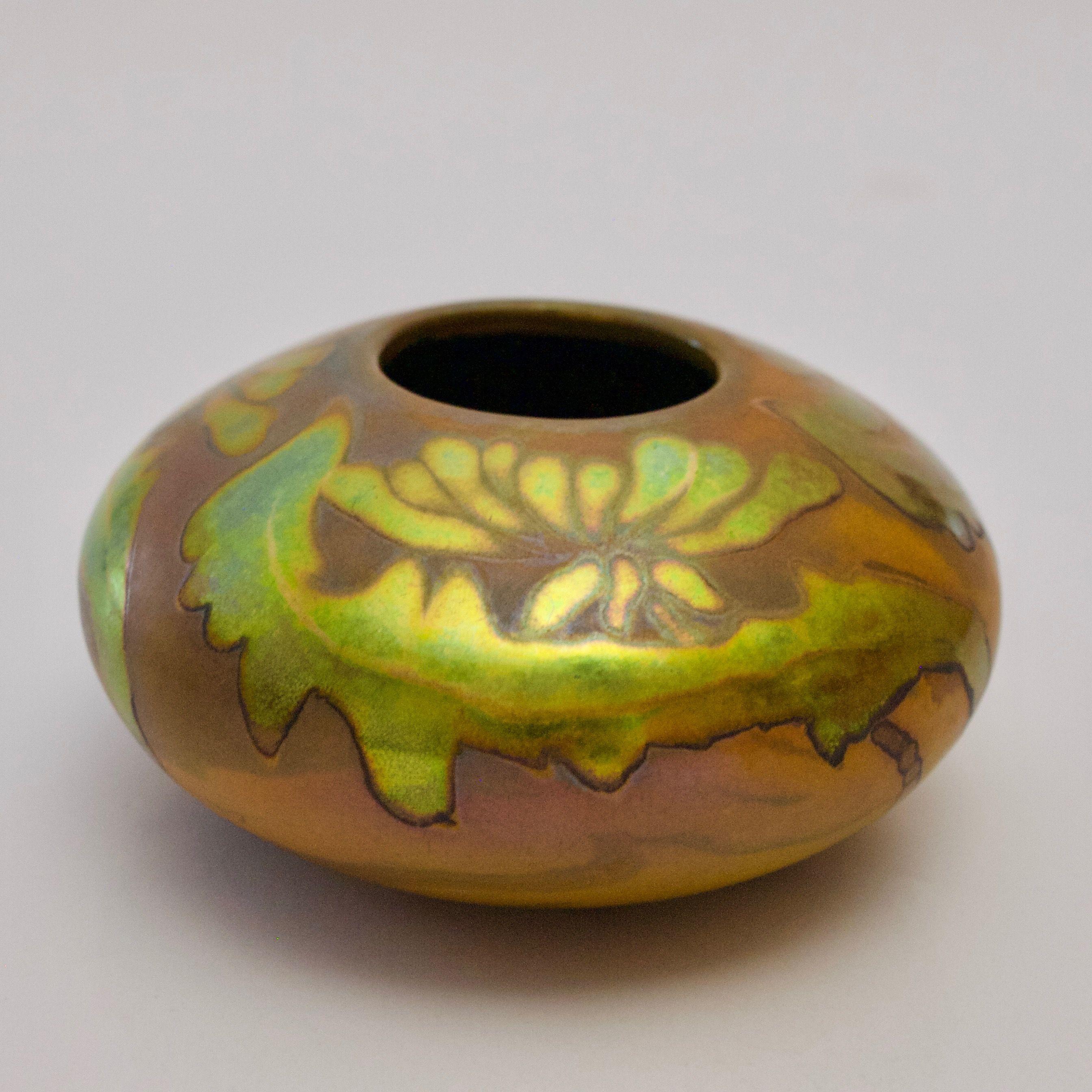 Zsolnay art nouveau / secession eosin vase obert.mario177