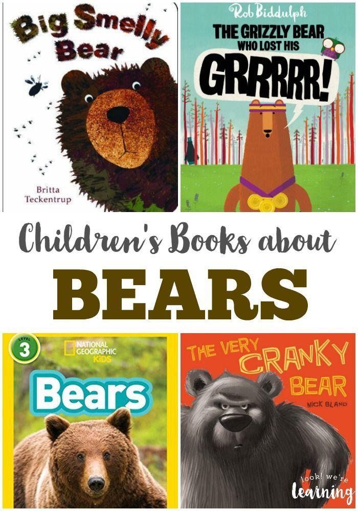 Bear Books For Kids Home Preschool Planning Pinterest Books
