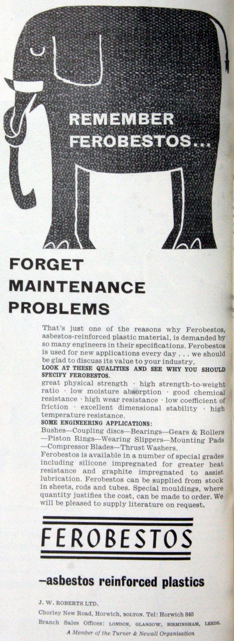 31++ Asbestos 1970s